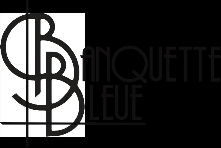 Logo de la banquette bleue